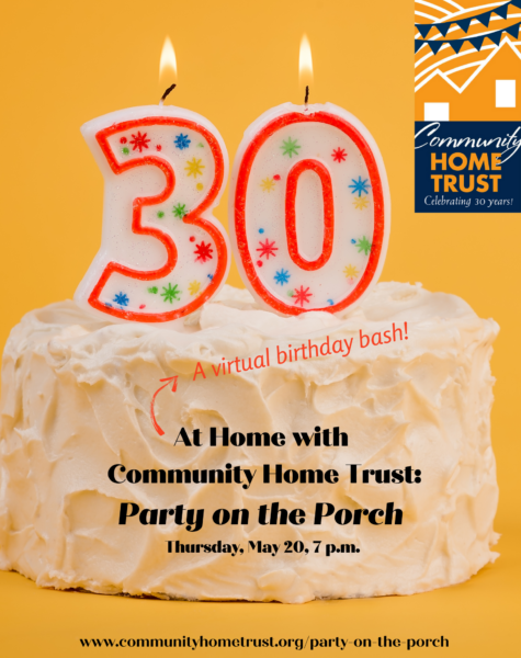 Celebrate Community Home Trust's 30th Birthday!